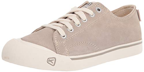 KEEN Mens Coronado III Suede Hiking Shoe, Dove Grey, 11