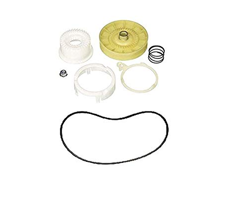 (New part) W10721967 - W10006384 Washer Clutch Kit and Belt Set (WPW10006384) / firs for many models, check in description + (one free author's book)