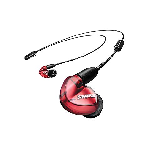 Shure SE535LTD+BT1 Limited Edition Wireless Sound Isolating Earphones with Bluetooth Enabled Communication Cable