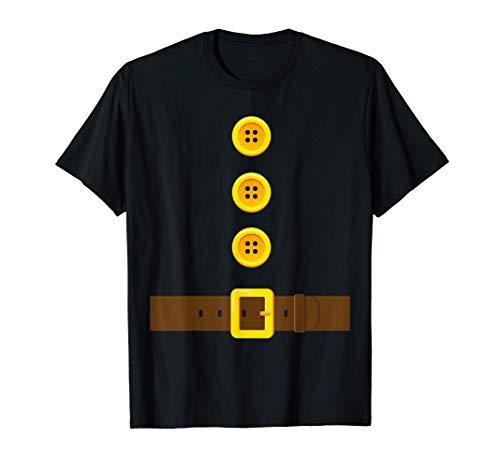 Disfraz De Enano I Divertido Gnomo Enano Fantasía Divertido Camiseta