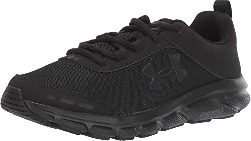 Under Armour Women's Charged Assert 8 , Black (002)/Black , 9.5
