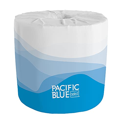 Pacific Blue Select 2-Ply Embossed Toilet Paper (previously branded Preference), 18280/01, 550 Sheet Per Roll, 80 Rolls Per Case