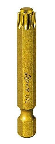 SPAX BIT T-STAR plus T40, Länge: 50mm, 5 Stück in der Dose, 5000009183409