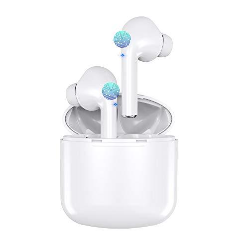 Bluetooth Kopfhörer, ZBC Kabellose Kopfhörer mit Bluetooth 5.0 TWS Noise Cancelling Headset In Ear Kopfhörer HiFi APT-X CVC mit Mikrofon und 30H Spielzeit Ladekästchen IPX5 Wasserdicht