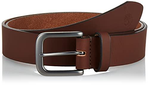 Timberland Men's 35mm Classic Jean Belt, Dark Brown, 38