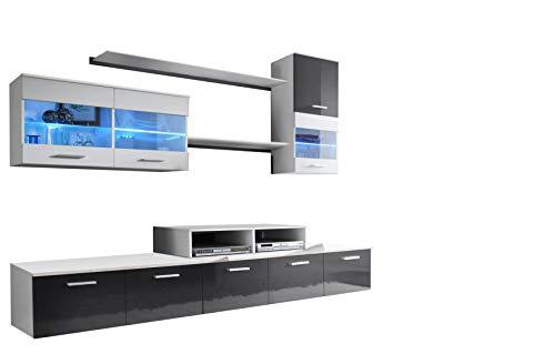 muebles bonitos – Mueble de salón Claudia Mod.2 (2,5m)