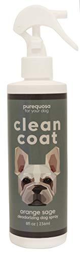 Purequosa Clean Coat Deodorizing Dog Spray | 8oz (Orange sage)