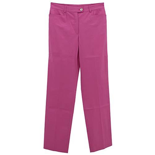 Basler, Damen KlassischeDamen Jeans Hose Twill Stretch Pink W 29 L 32 D 38 [23013]