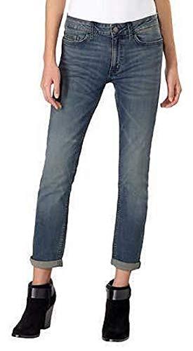 Calvin Klein Womens Jeans Slim Boyfriend Rolled Cuff Classic Fit, Tony Blue (6)
