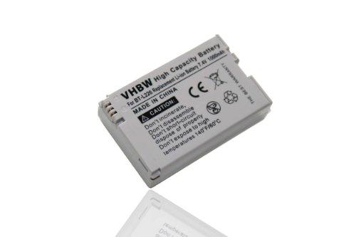 vhbw Li-Ion Akku 1000mAh (7.4V) für Kamera Camcorder Video Sharp VL-Z7S, VL-Z7U, VL-Z7UC, VL-Z8, VL-Z800, VL-Z800s wie BT-L226, BT-L226U, BT-L227.