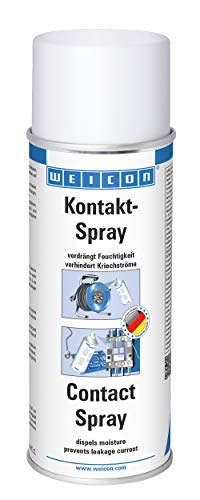 WEICON Kontakt-Spray 400 ml Pflege & Schutz elektronischer Kontakte transparent