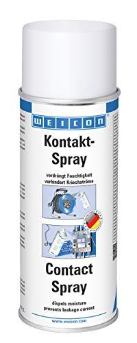 Weicon 11152400 Kontakt-Spray 400ml – für Metall, PCB, Kabeltrommel, Garten & Schuppen