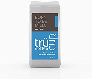 trücup Low Acid Coffee- Born to Be Mild Light Roast- Whole Bean, 12 Ounces- Smooth, Sweet Coffee - Can Be Gentle on the Stomach