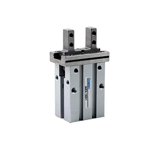 LIPENLI Paralelo de Aluminio anodizado de guía Lineal Pinza neumática 16 mm Diámetro MZ2-16D1 instalación neumática