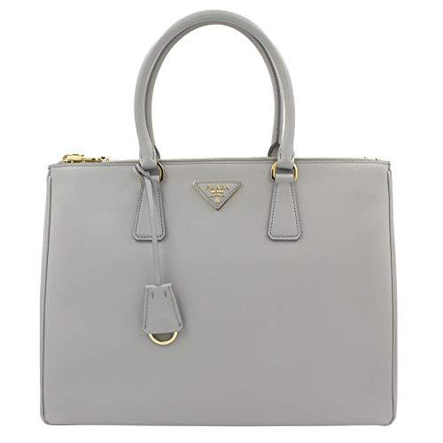 Prada Saffiano Lux Galleria Granito Leather Ladies Tote 1BA786NZV