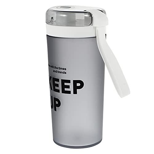 DOITOOL Botella Coctelera Clásica Botella Coctelera de Proteínas a Prueba de Fugas Deportes Botella de Agua Portátil Suplemento Mezclador Botella para Beber para Batidos Suaves Pre