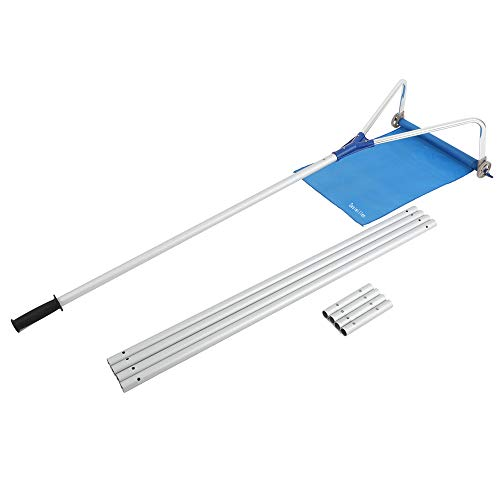 Sesiwillen Roof Snow Rake Removal Tool 20 Ft with Adjustable Telescoping Handle Rooftop Snow Rake Removal Tool Adjustable Extendable