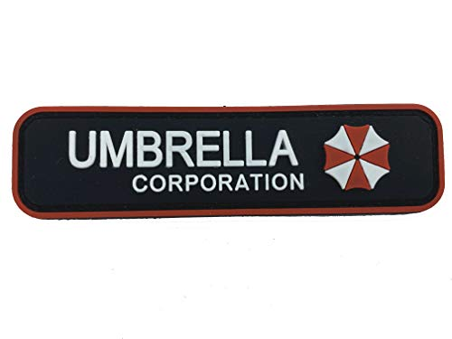 Umbrella Corporation Resident Evil - Parche para Ventilador de Airsoft (PVC)