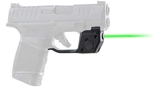 ArmaLaser Designed for Springfield Armory Hellcat TR26G Green Laser Sight with Grip Activation