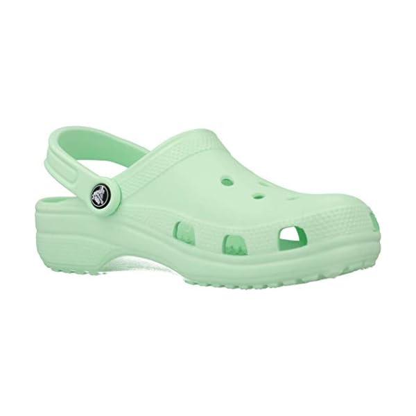 Crocs Classic Clog | Comfortable Slip on Casual Water Shoe, Neo MINT, 9 US Women / 7 US Men M US