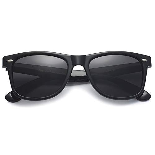 PREMIUM Unisex polarizadas 80's Retro Classic Wayfarer Gafas de sol