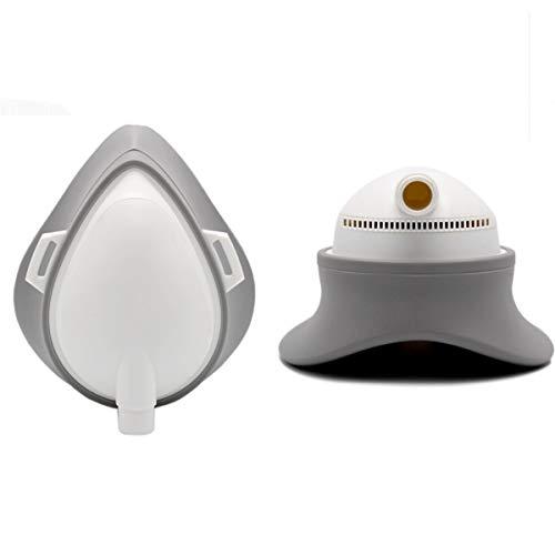 Weiming Respirador eléctrico Reutilizable con Filtro HEPA, purificado
