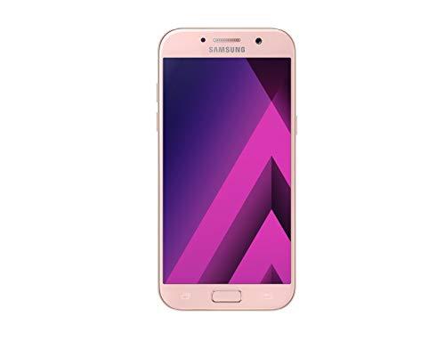 "Smartphone Samsung Galaxy A5 2017, 4G, Dual Chip, Tela Super AMOLED, 5.2"" FHD, Android 6.0,Octa Core, 32GB, 3GB RAM, câmera 16MP f1.9 + 16MP f1.9, corpo em metal e vidro, IP68,Rosa"
