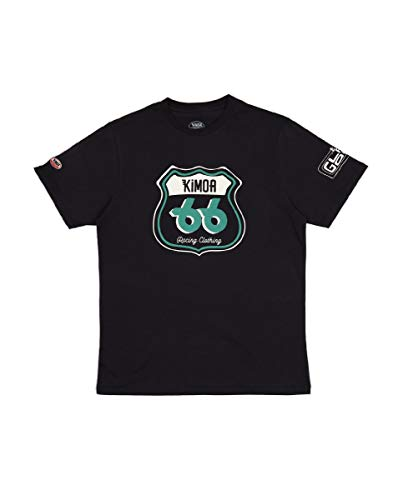 Kimoa Camiseta Indy 66, Unisex Adulto, Gris Oscuro, M