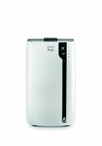 De'Longhi Silent PAC EX100 mobiles Klimagerät, 230 V, Räume bis 80qm, Weiß