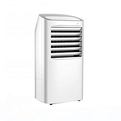 Mini Ventilador de Aire Acondicionado portátil Función de enfriamiento de frío único Enfriadores evaporativos Enfriador de Aire silencioso sin Cuchillas para mesita de Noche de Dormitorio de Oficina