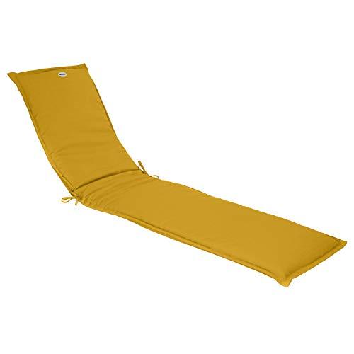 Hespéride - Cojín para tumbona (190 cm), color amarillo