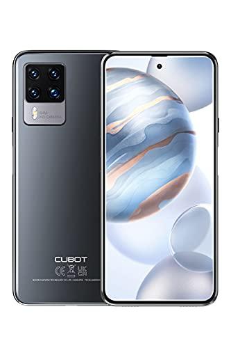 CUBOT X50 Smartphone, 6.7 Pouces Grand Écran Téléphone Portable avec Quad Caméra 64MP, Android 11, Batterie 4500mAh, 8GB RAM 128GB ROM, Dual SIM, NFC, Global Version, Noir