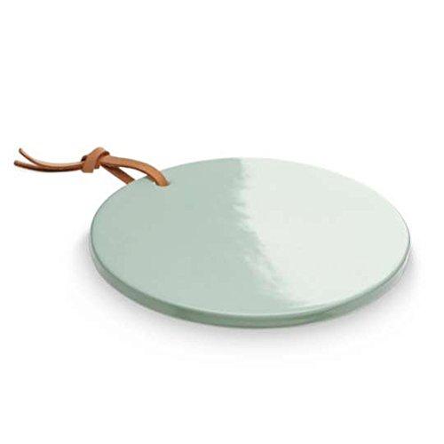 sompex - Leve LYS, Platte für Teelichter Ø13cm -Keramik grün, magnetisch (34903)