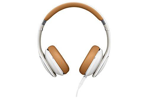 Samsung EO-OG900BWEGWW Premium kabelgebunden On-Ear-Kopfhörer mit 3-Tasten-Fernbedienung/Freisprechfunktion weiß
