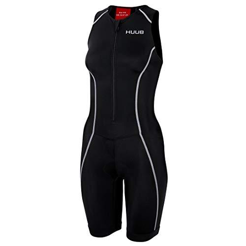 Huub Essential Tri Combinaison de Triathlon pour Femme Tailles XS à XXL, Noir, XS (Height 139-155 cm)