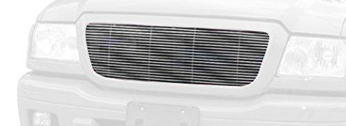 TRex Grilles 20660 Horizontal Aluminum Polished Finish Billet Grille Insert for Ford Ranger