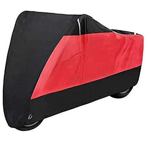 YZDKJDZ Cubierta Impermeable para Motocicleta, Cubierta para Bicicleta, Impermeable, Accesorios para Motocicletas, Protector Universal para Exteriores, Cubierta para Motocicleta a Prueba De Polvo