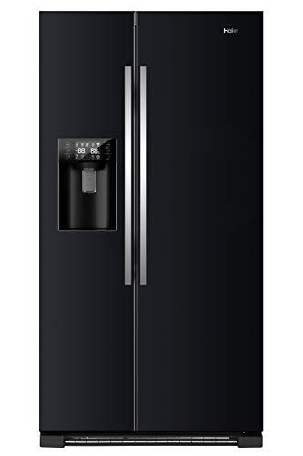 Haier HRF-630IB7 Side-by-Side/ A++/ 179 cm Höhe/ 355 kWh/Jahr/ 375 L Kühlteil/ 180 L Gefrierteil/ Wasser und Eisspender und Ice Crusher