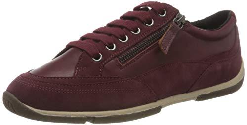 Geox Damen D AGLAIA C Sneaker, Bordeaux, 40 EU