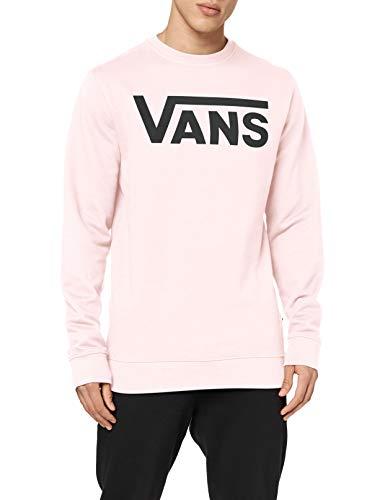 Vans Classic Crew II Suéter pulóver, Cool Rosa, S para Hombre