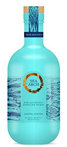 Ginebra sin alcohol – Sea Arch Gin 70 cl, botella nueva