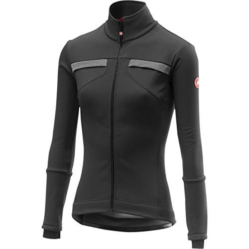 CASTELLI Dynamische Jacket, Sportjacke für Damen XS Light Black