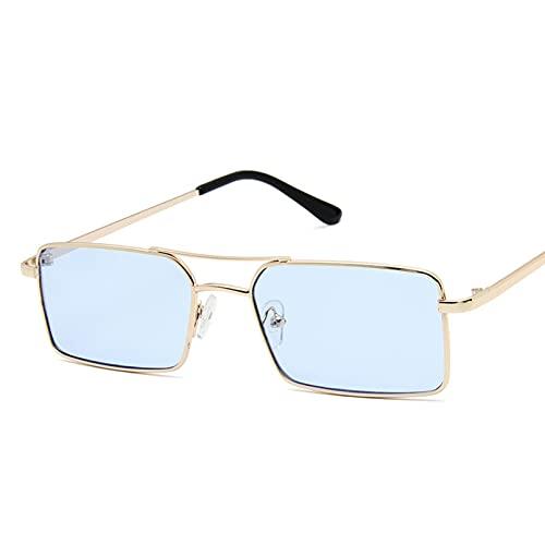 LUOXUEFEI Gafas De Sol Gafas De Sol Mujer Hombre Gafas De Sol Cuadradas Gafas Femeninas