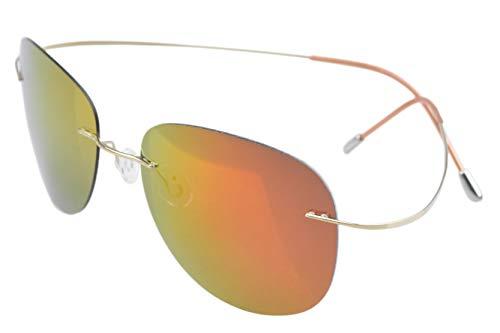 Eyekepper Gafas de Sol Polarizadas con Montura Titania sin B