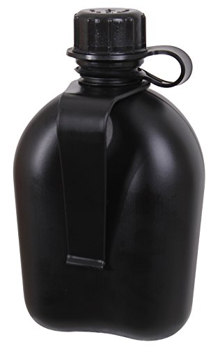 Rothco 3 Piece G.I. Plastic Canteen with Clip