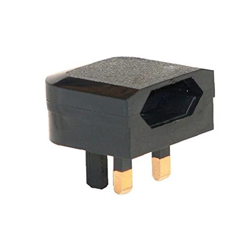 Odoukey-Adaptador de corriente EU EUROPE UE 2 PIN A UK 3PIN ADAPTADOR ADAPTADOR ATOMADERIENTE VIAJE Adaptador de pared Convertidor de la pared
