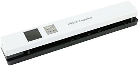 IRIScan Anywhere 5 Scanner portable I I Dispositif de num/érisation mobile I Autonome et rapide I DIN A4 I Num/érisation de documents I Aucun ordinateur requis I Batterie longue dur/ée pouvant contenir jusqu/à 100 pages A4 IRIS