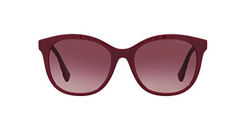 Ralph by Ralph Lauren Gafas de sol de mariposa Ra5279 para mujer, Brillante/Rosa/Violeta Oscuro Degradado,