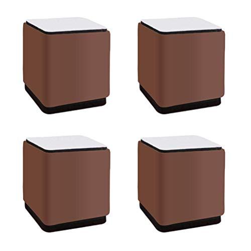 ETDWA Patas de Mesa para Muebles de Bricolaje Patas de Mesa de Metal Patas de Mesa para Muebles 5cm Pies Cuadrados de Repuesto Elevadores de Muebles Patas Patas de sofá Patas de Escritorio para so