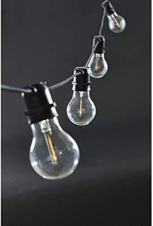 House Doctor Lichterkette Funktion, schwarz, 840 x 50 cm